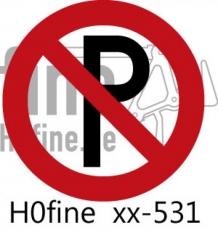 Verkehrszeichen Parkverbot