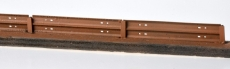 Stahlschwellen für Bahnsteigkanten, filigraner 3D-Druck