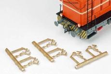 OBK-Kupplung für Triebwagen/Kleinlok 3er-Bausatz