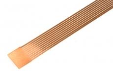 Federbronzestreifen 0,7 x 0,1 mm für Stromabnahmefedern