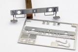 Pufferbohlen mit Kupplung-Führung, Kupplergriffen, Ecktritten 30,5 mm