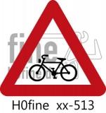 Verkehrszeichen Fahrradfahrer (ab 1971)