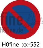 Verkehrszeichen Eingeschränktes Halteverbot 1970