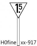 Geschwindigkeitstafel Lf4