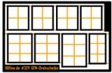 Fenstersatz für die Fleischmann Drehscheibe