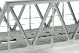 Genietete Fachwerkbrücke 240 mm H0-Fertigmodell