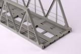 Genietete Fachwerkbrücke 130 mm Spur N-Fertigmodell