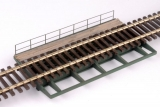 Geschweißte Blechträgerbrücke 280 mm Spur1-Fertigmodell