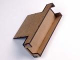 FRED/FREDI-Halter einfach zur Montage hinter der LN-Box, MDF-Bausatz