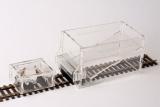 Schotterhilfe/ Schotterbesen Set für Spur 0