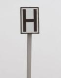 H-Tafel, weiße Tafel (Ne 5)
