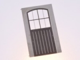 Filigranätztüren (Auhagen Tür H) 12 x 28 mm Sprossenteilung B, 1 Stk.