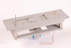 Spur 0-Weichenantrieb mit Laternendrehungen Handbetrieb mit Kippschalter