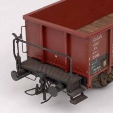 OBK für Waggons Kunststoffbausatz mit Kupplungsbügel