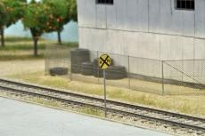US-Verkehrszeichen Railroad Crossing Advance W10-1