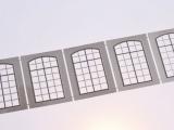 Filigranätzfenster UG (Auhagen Typ A) 12 x 21,6 mm Sprossenteilung A, 5 Stk.